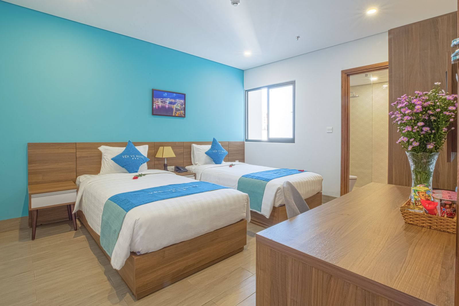 Deluxe Twin Room - Yến Vy Hotel